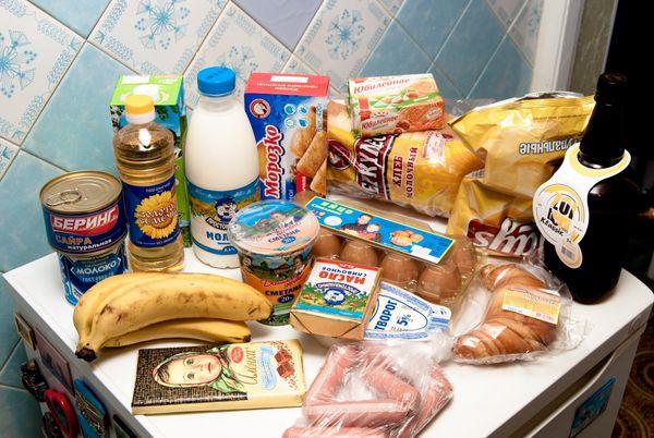 употребление в пищу продуктов